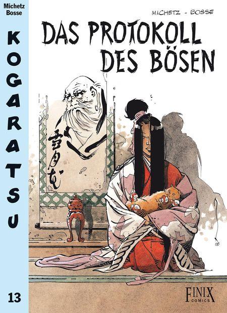 Kogaratsu 13: Das Protokoll des Bösen - Das Cover