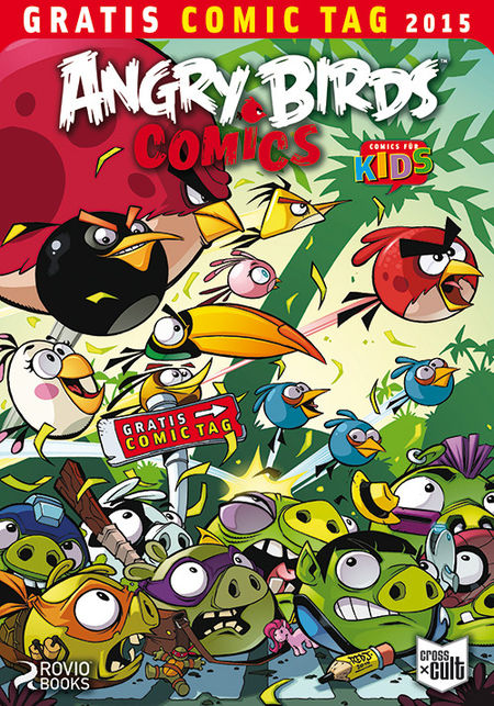 Angry Birds Comics - Gratis Comic Tag 2015 - Das Cover