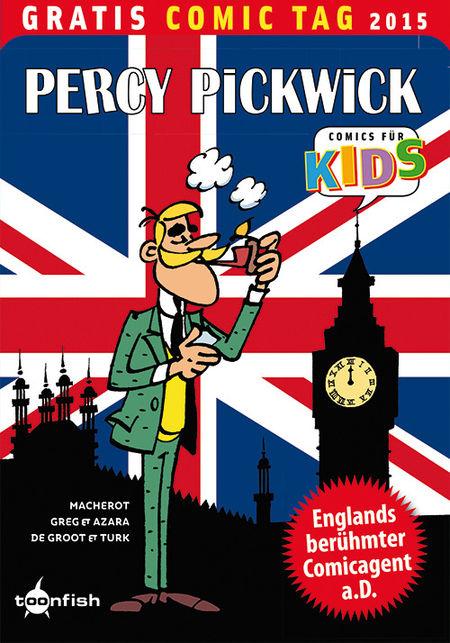 Percy Pickwick - Gratis Comic Tag 2015 - Das Cover