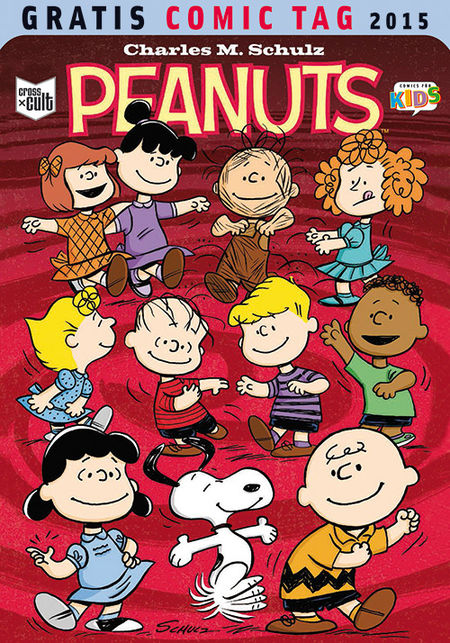 Peanuts - Gratis Comic Tag 2015 - Das Cover