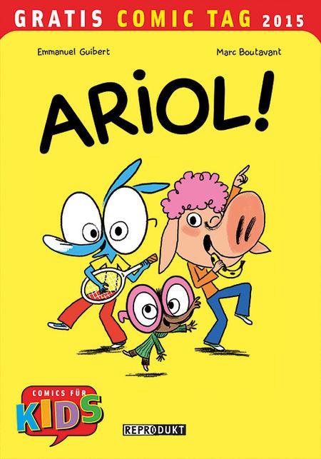 Ariol! - Gratis Comic Tag 2015 - Das Cover