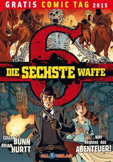 Die sechste Waffe – Gratis Comic Tag 2015 - Das Cover