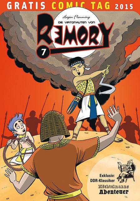 Die Virtonauten von Remory - Gratis Comic Tag 2015 - Das Cover
