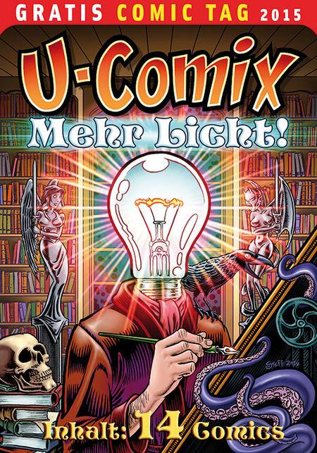 U-Comix  – Gratis Comic Tag 2015 - Das Cover
