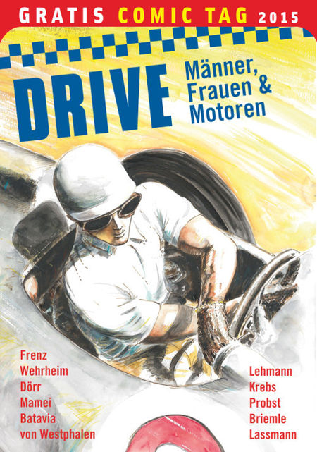 Drive – Gratis Comic Tag 2015 - Das Cover
