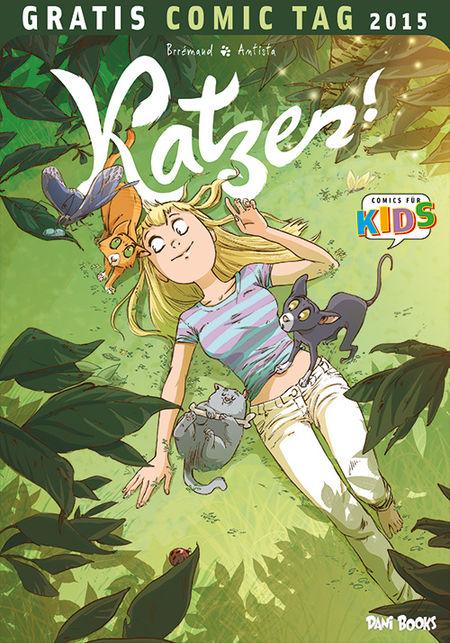 Katzen! - Gratis Comic Tag 2015 - Das Cover