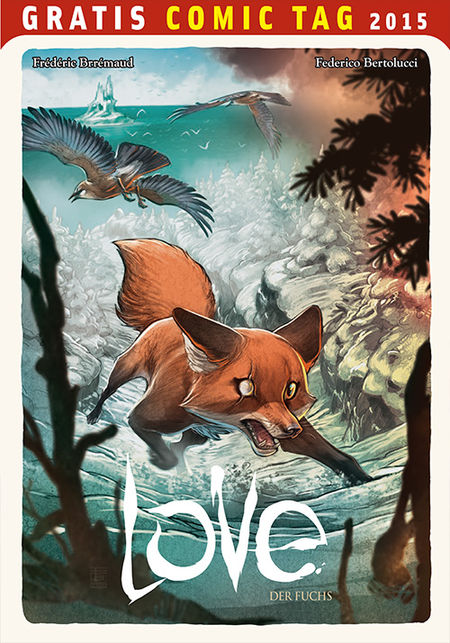 Love: Der Fuchs - Gratis Comic Tag 2015 - Das Cover