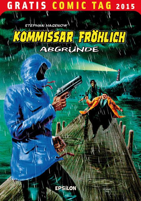 Kommissar Fröhlich – Gratis Comic Tag 2015 - Das Cover