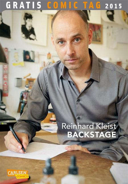 Reinhard Kleist – Gratis Comic Tag 2015 - Das Cover