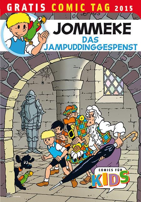 Jommeke – Gratis Comic Tag 2015 - Das Cover
