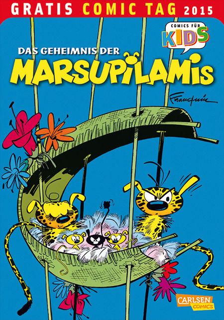 Das Geheimnis der Marsupilamis - Gratis Comic Tag 2015 - Das Cover