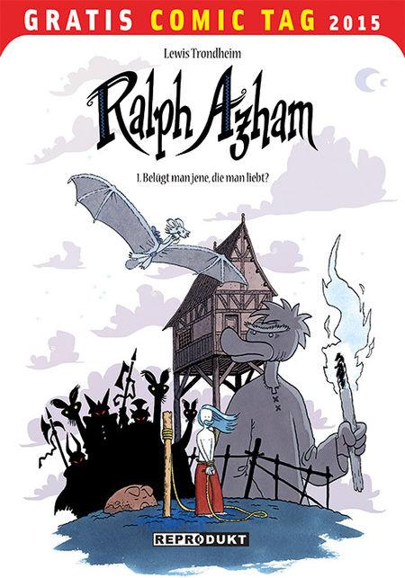 Ralph Azham- Gratis Comic Tag 2015 - Das Cover