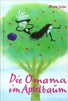 Die Omama im Apfelbaum - Das Cover