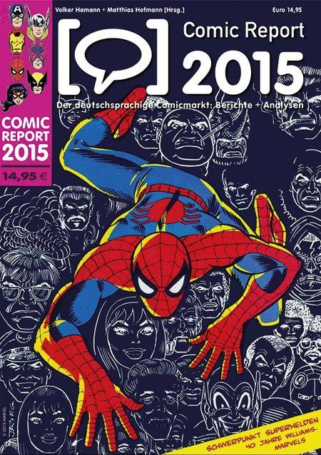 Comic Report 2015 - Das Cover