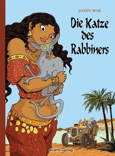 Die Katze des Rabbiners Gesamtausgabe 2 - Das Cover