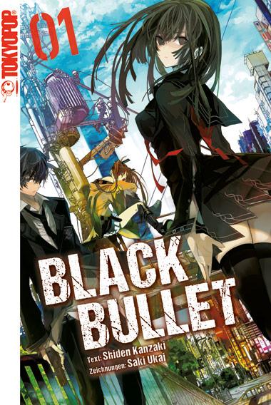 Black Bullet - Novel 1 - Das Cover