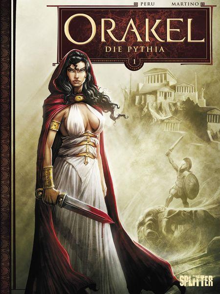 Orakel 1: Die Pythia - Das Cover
