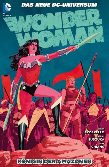 Wonder Woman 6: Königin der Amazonen - Das Cover
