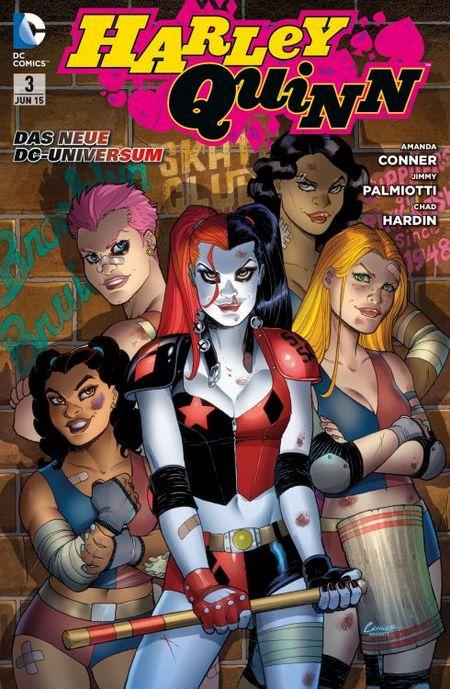 Harley Quinn 3: Comics, Blades und blaue Flecken - Das Cover