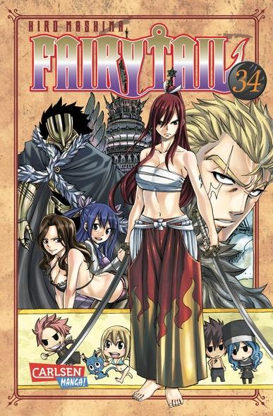 Fairy Tail 34 - Das Cover