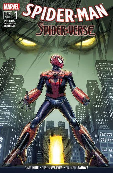 Spider-Man: Spider-Verse Sonderband 1 - Das Cover
