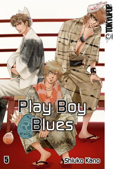 Play Boy Blues 5 - Das Cover