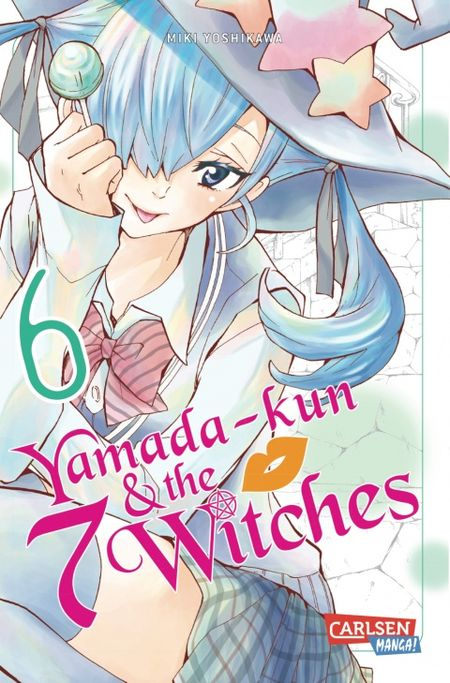 Yamada-kun & the 7 Witches 6 - Das Cover