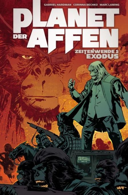 Planet der Affen - Zeitenwende 1: Exodus - Das Cover