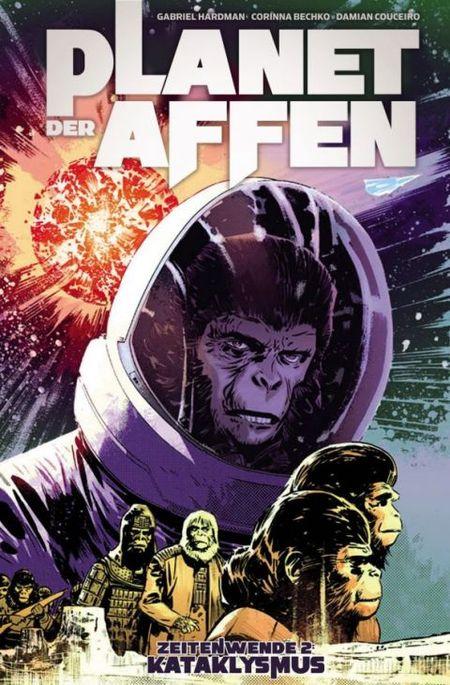 Titel: Planet der Affen - Zeitenwende 2: Kataklysmus - Das Cover