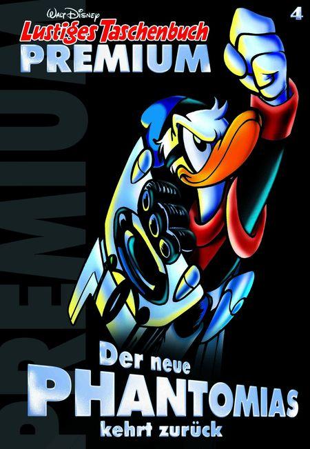 Lustiges Taschen Premium 04: Der neue Phantomias kehrt zurück - Das Cover