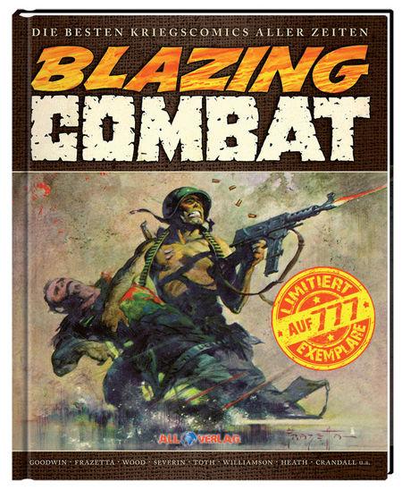 Blazing Combat Gesamtausgabe - Das Cover