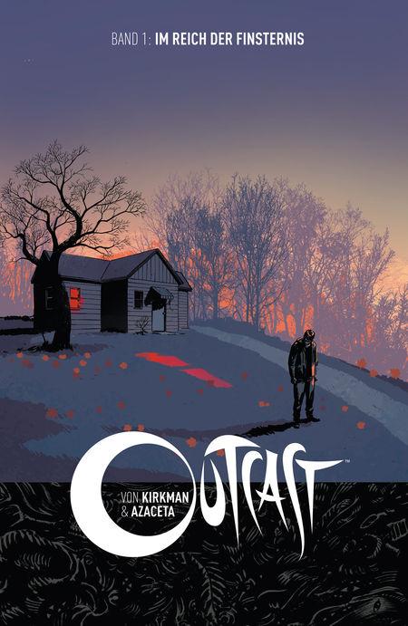 Outcast 1: Outcast 1 Im Reich der Finsternis - Das Cover