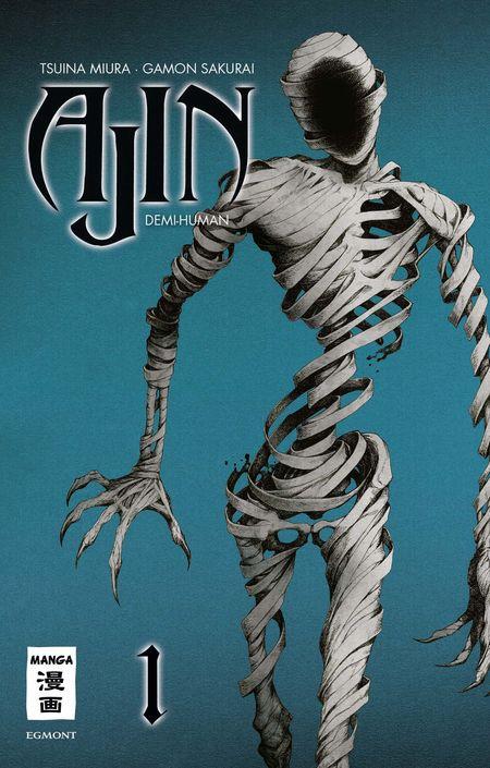 Ajin Demi-Human 1 - Das Cover