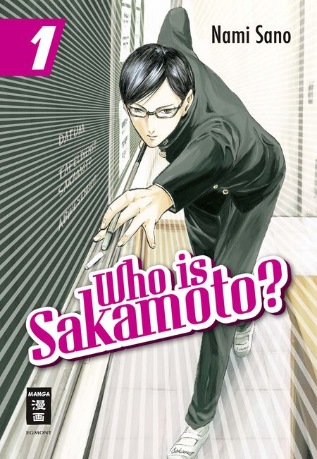 Who is Sakamoto? 1 - Das Cover