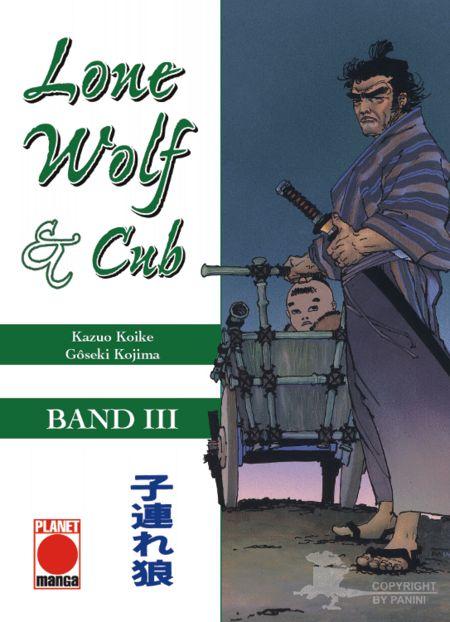 Lone Wolf & Cub 3 - Das Cover