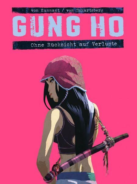 Gung Ho 2:Ohne Rücksicht auf Verluste - Das Cover