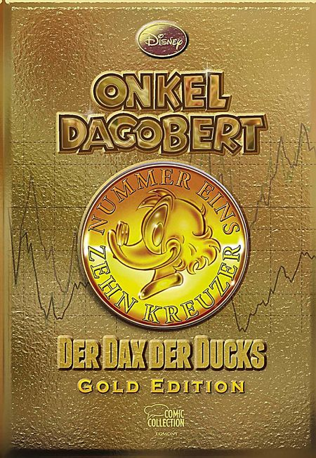 Onkel Dagobert - Der Dax der Ducks - Gold Edition - Das Cover