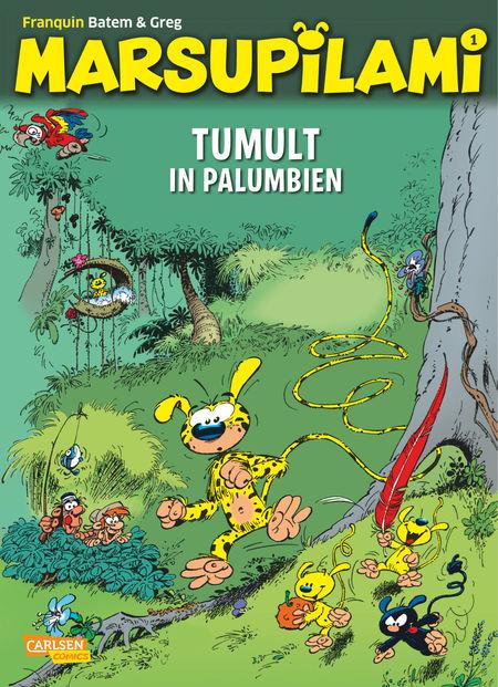 Marsupilami 1: Tumult in Palumbien - Das Cover