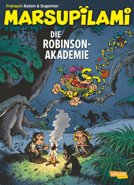 Marsupilami 2: Die Robinson-Akademie - Das Cover