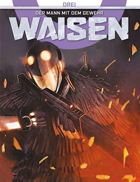Waisen 3: Der Mann mit dem Gewehr - Das Cover