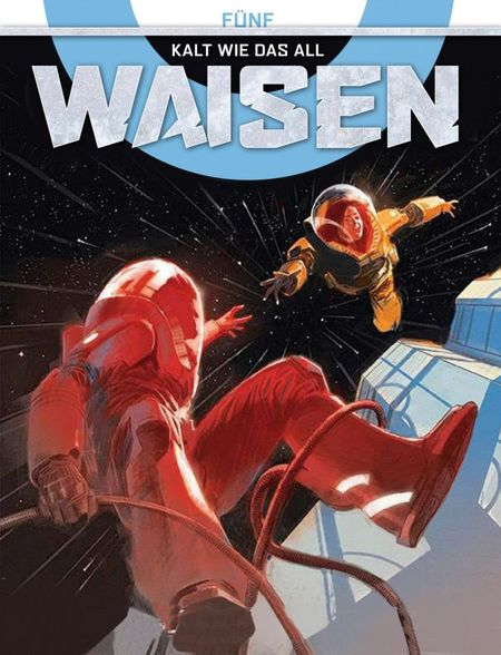 Waisen 5: Kalt wie das All - Das Cover