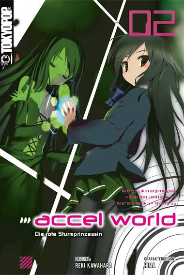 Accel World Novel 2: Die rote Sturmprinzessin - Das Cover