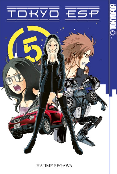 Tokyo ESP 5 - Das Cover