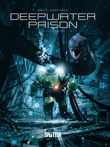 Deepwater Prison 2: Der Block - Das Cover