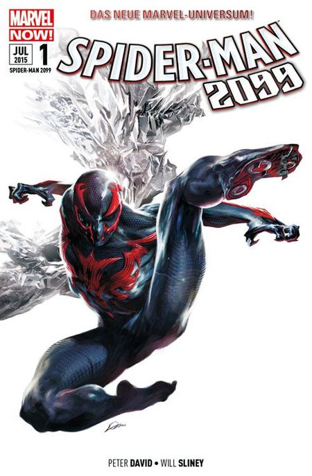 Spider-Man 2099 Band 1 - Das Cover