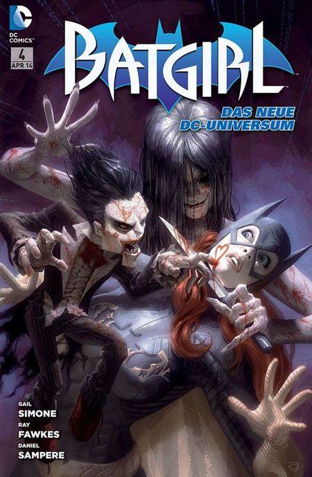 Batgirl 4: Mörderischer Hass - Das Cover