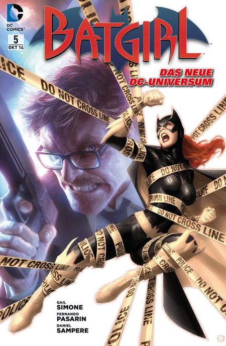 Batgirl 5: Jagd auf Batgirl! - Das Cover