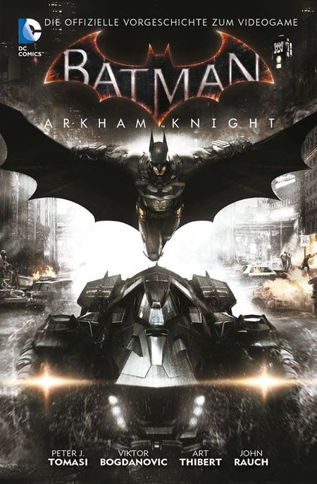 Batman Arkham Knight 1 - Das Cover