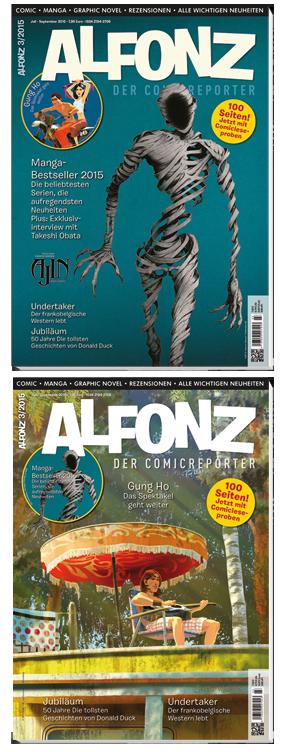 Alfonz 3/2015 - Das Cover