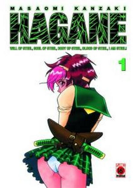 Hagane 1 - Das Cover